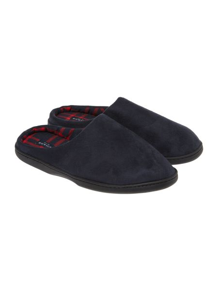 Howick Classic Navy Slip On Slipper