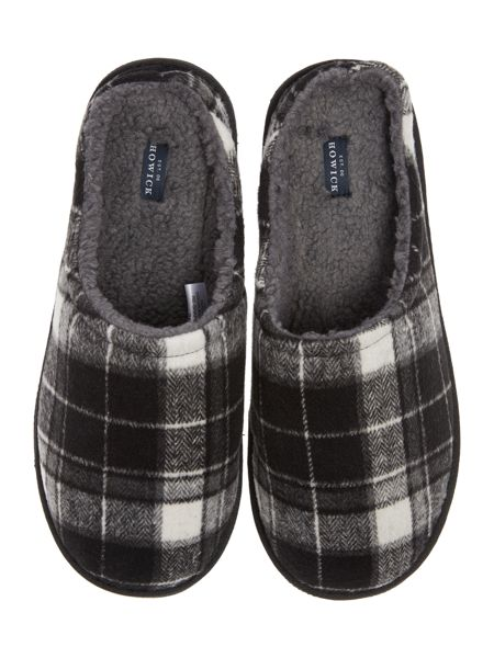 Howick Check Slip On Slipper