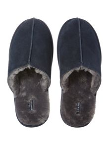Howick Navy Mule Slipper