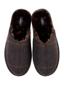 Howick Check Mule Slipper