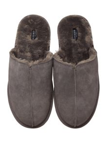 Howick Charcoal Mule Slipper