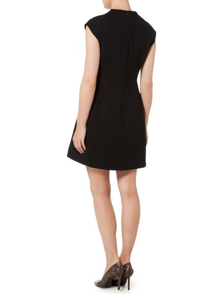 Marella Sapone sleeveless crepe shift dress