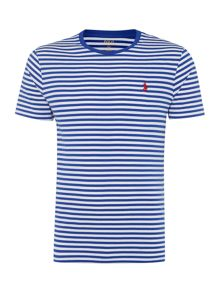 Polo Ralph Lauren Basic stripe crew short sleeve tee