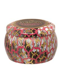 Voluspa Mandarino Cannela 4oz Mini Tin Candle