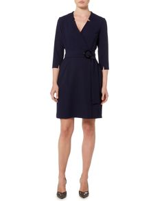 Marella Nodo jersey wrap dress