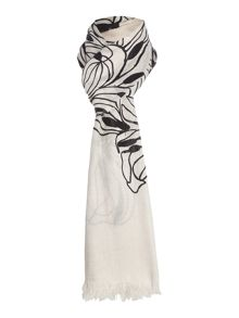 Marella Bembo floral print scarf
