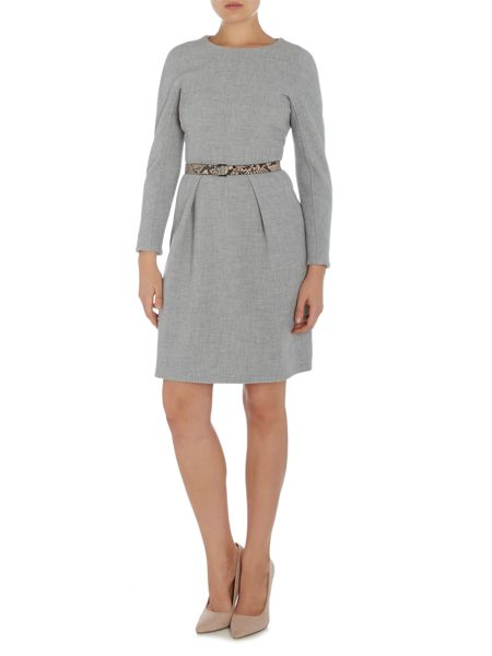 Marella Tallone long sleeve knitted shift dress