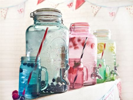 Kilner 5 Litre Pink Drinks Dispenser
