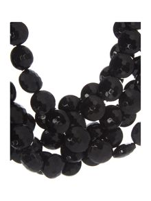 Marella Joice black beaded necklace