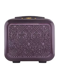 Logo purple vanity case