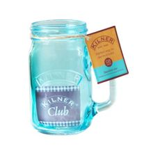 Kilner 400ml Handled Jar Blue
