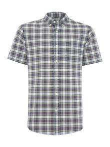 Denim and Supply Ralph Lauren Regular fit short sleeve check shirt