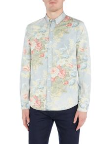 Denim and Supply Ralph Lauren Regular fit floral print shirt