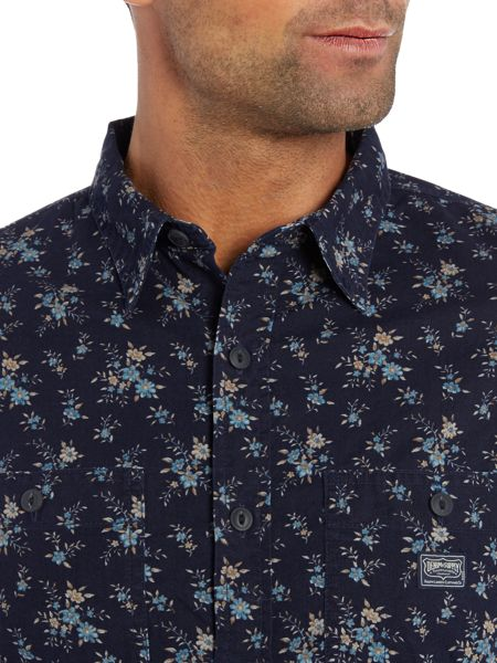 Denim and Supply Ralph Lauren Regular fit ditzy floral print shirt