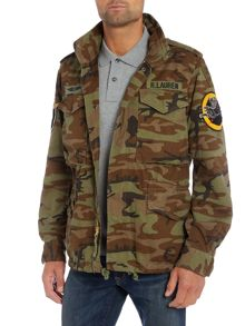 Denim and Supply Ralph Lauren Camo print field jacket