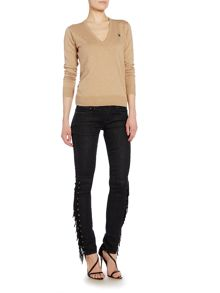 Polo Ralph Lauren Eloise v neck  jumper