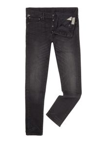 Denim and Supply Ralph Lauren Skinny fit distressed black wash jean