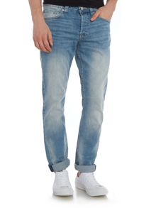 Only & Sons Regular Fit Weft Light Wash Jeans