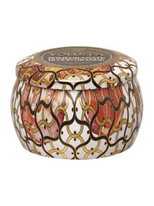 Voluspa Pomegranate Blood Orange 4oz Mini Tin Candle