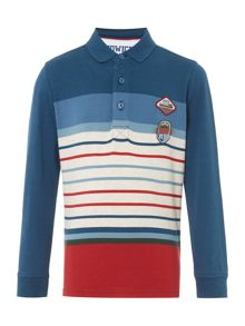 Howick Junior Long Sleeve Rugby Engineer Stripe