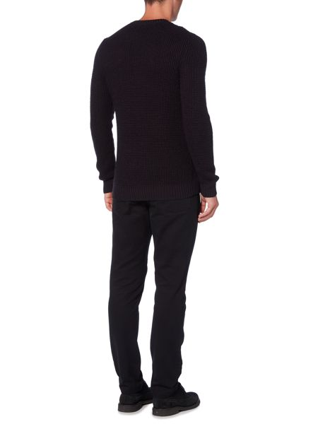 Linea Perriand Side Cable Knit Jumper