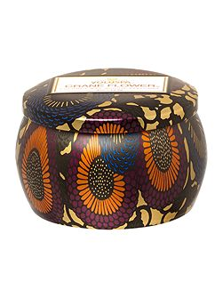 Japonica Crane Flower 4oz Mini Tin Candle