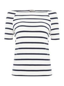 Vero Moda 1/4 Sleeve Off The Shoulder Top