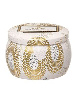 Japonica Panjore Lychee 3.5oz Mini Tin Candle