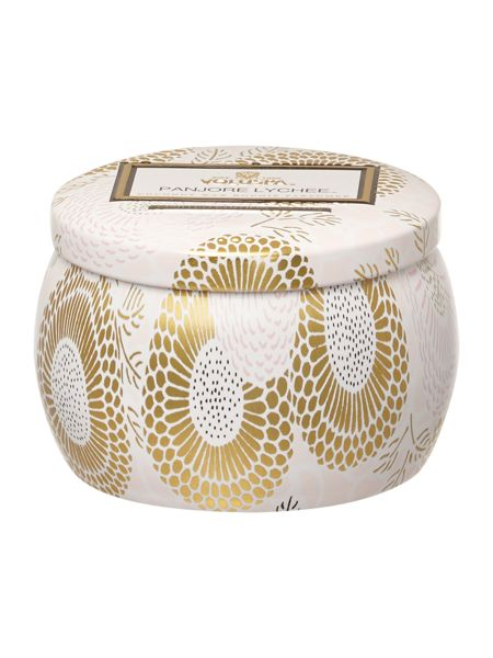 Voluspa Japonica Panjore Lychee 3.5oz Mini Tin Candle