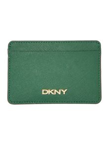 DKNY Saffiano green card holder