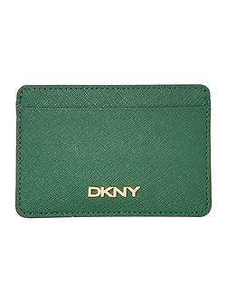 Saffiano green card holder