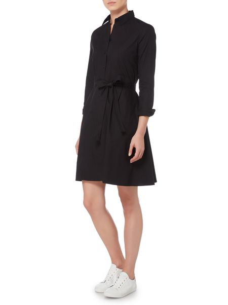 Gant Broadcloth Flare Shirt Dress