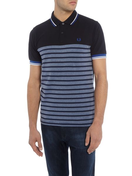 Fred Perry Oxford panel pique polo