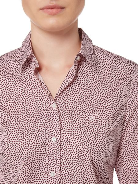 Gant Broadcloth Stretch Leaf Shirt