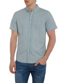 Denim and Supply Ralph Lauren Regular fit short sleeve denim shirt