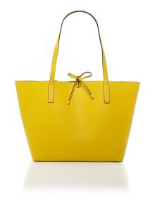 Guess Yellow reversible tote bag