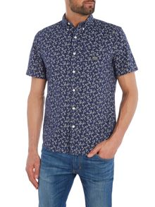 Denim and Supply Ralph Lauren Regular fit mini floral print short sleeve shirt