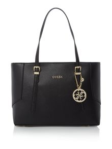 Guess Black tote shoulder bag