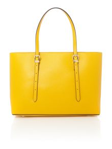 Guess Yellow tote shoulder bag