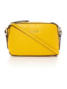 Guess Yellow cross body bag