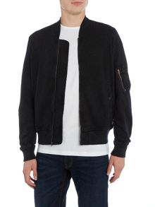 Denim and Supply Ralph Lauren Cotton baseball neck bomber jacket