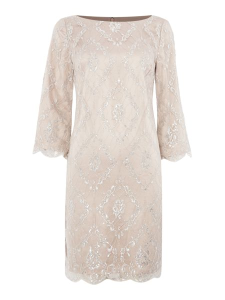 Eliza J French lace shift dress