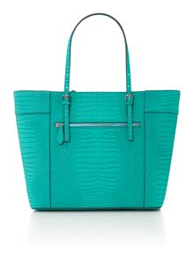Guess Green medium tote bag