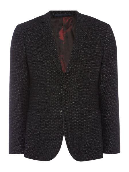 Linea Marcel Large Pindot Patch Pocket Blazer