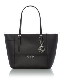 Guess Black shoulder tote bag