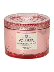 Voluspa Prosecco Rose 11oz Corta Maison Glass Candle