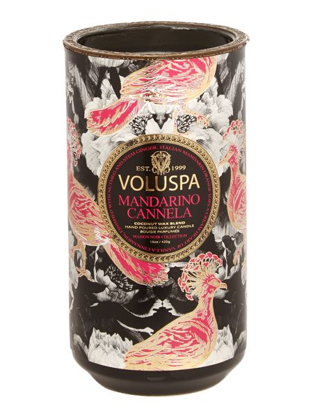 Voluspa Mandarino Cannela 15oz Ceramic Candle