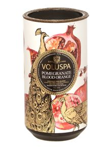 Voluspa Pomegranate Blood Orange 15oz Ceramic Candle