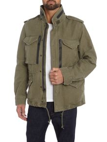 Denim and Supply Ralph Lauren Funnel neck cotton field jacket