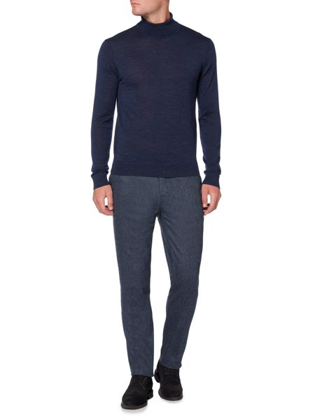 Linea Deale Textured Wool Trouser